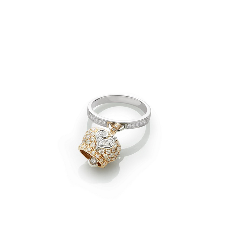 Small campanella ring