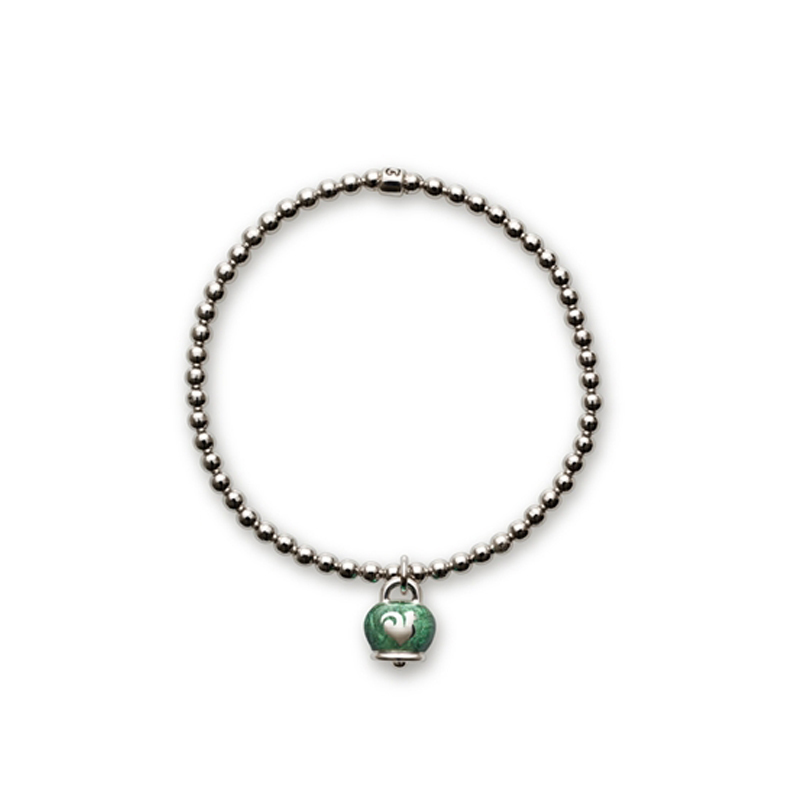 vasta selezione di c3ed7 c3c1b Chantecler - Et Voilà - Bracciale argento smalto verde, 37924