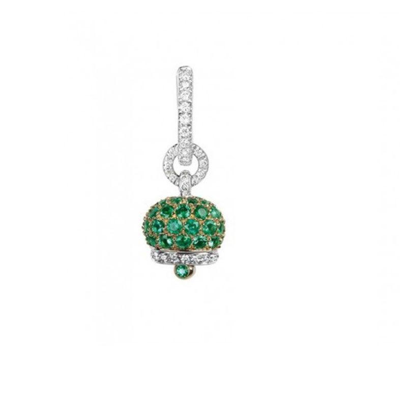 Small campanella earring
