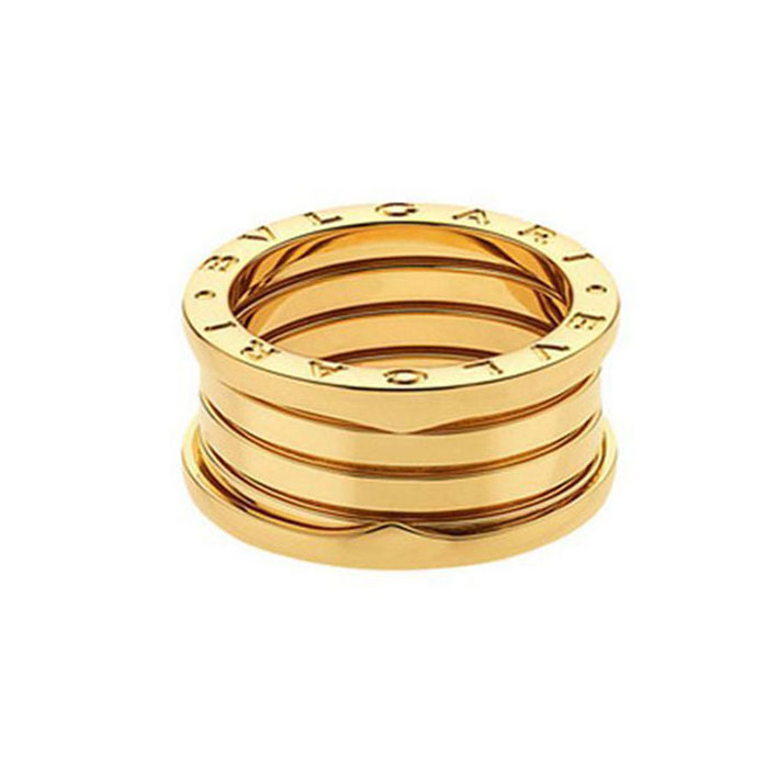 4-Band Yellow Gold Ring