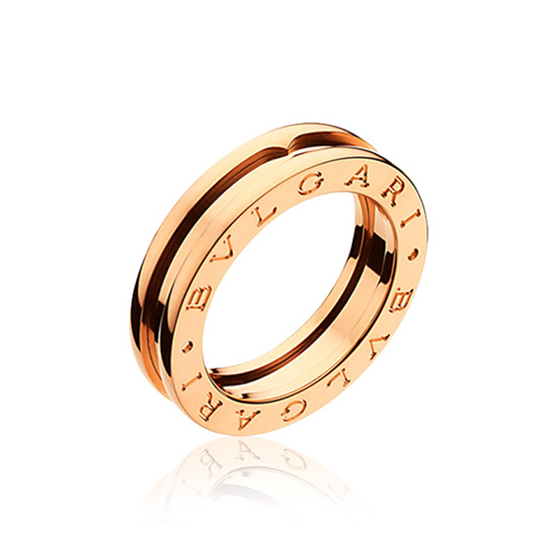 1-band Pink Gold Ring