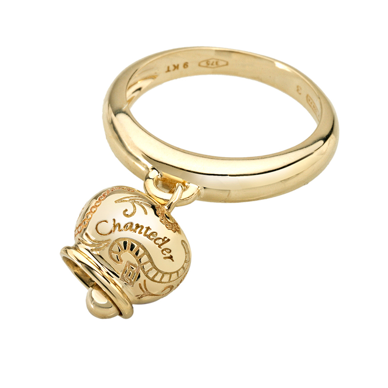 Yellow gold small ring
