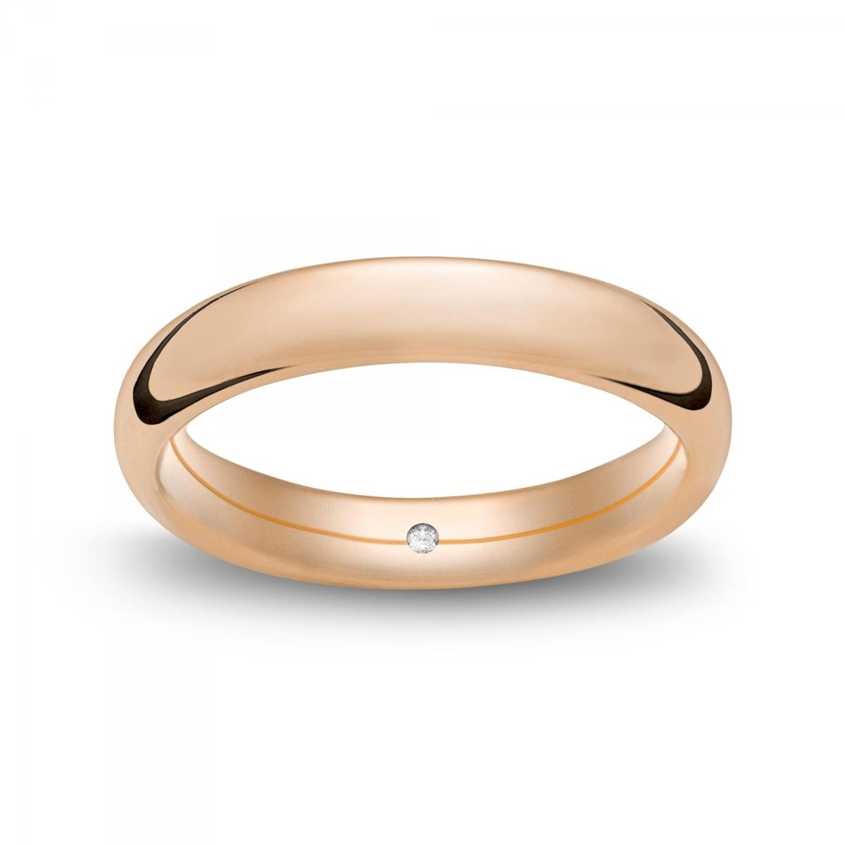 Marli Fede confort alta in oro rosa Rosatenue®