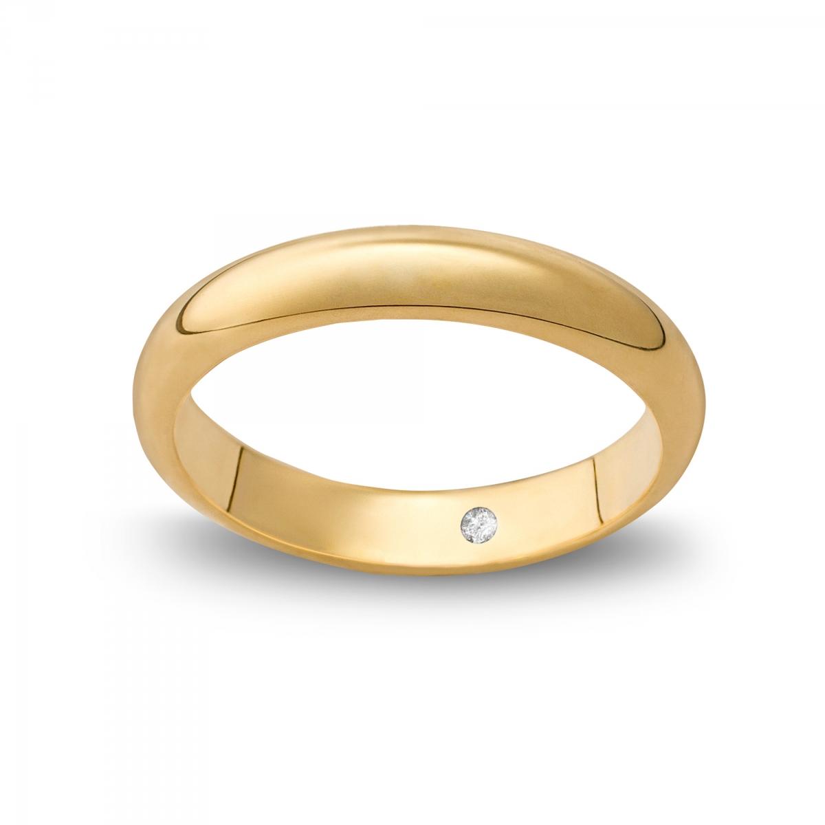 Marli Fede classique alta in oro Giallopuro®