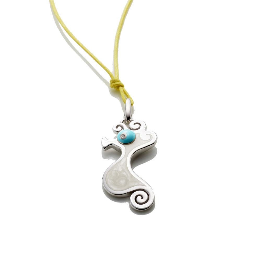Big seahorse charm