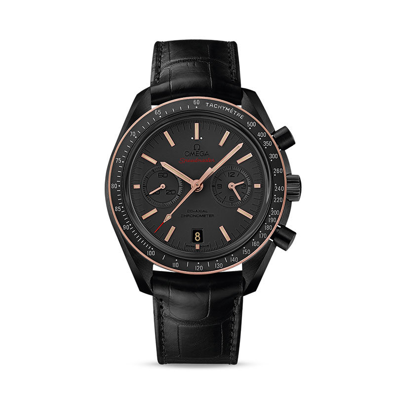 Moonwatch OMEGA Co-Axial Chronograph 44,25 mm - Sedna Black