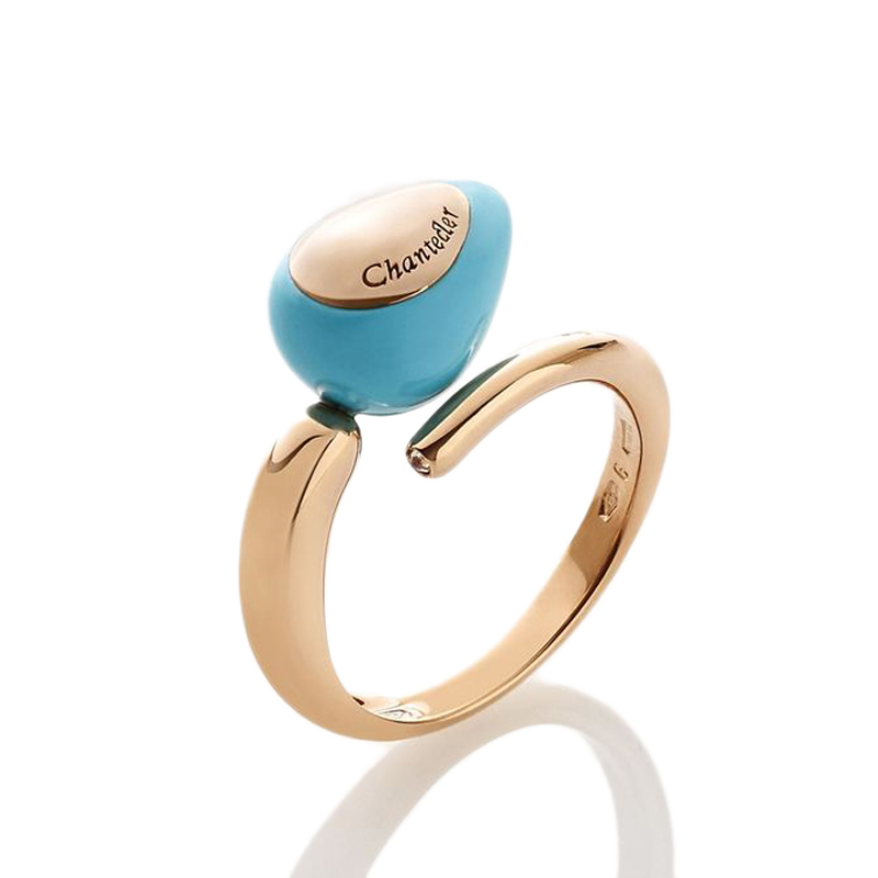 Ring with single drop