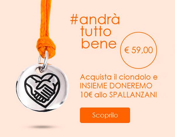 Per ogni acquisto INSIEME DONEREMO 10€ allo Spallanzani